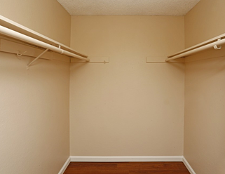 Large, double sided closet